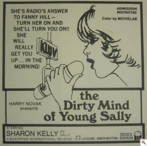 Sally Newspaper Ad - Click to View Larger...