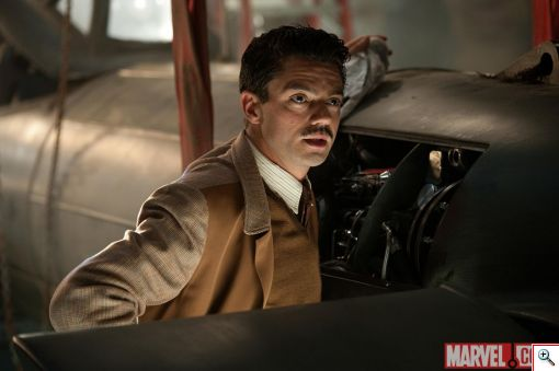 Dominic Cooper as Howard Stark