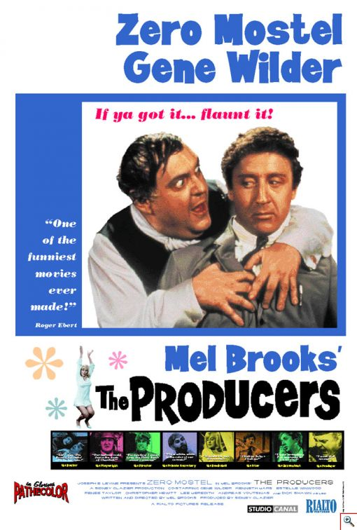 The Producers, 1968 - Click to View Larger Version...